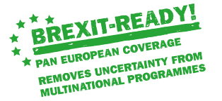 Brexit-Ready! Pan European Coverage Removes Uncertainty from Multinational Programmes